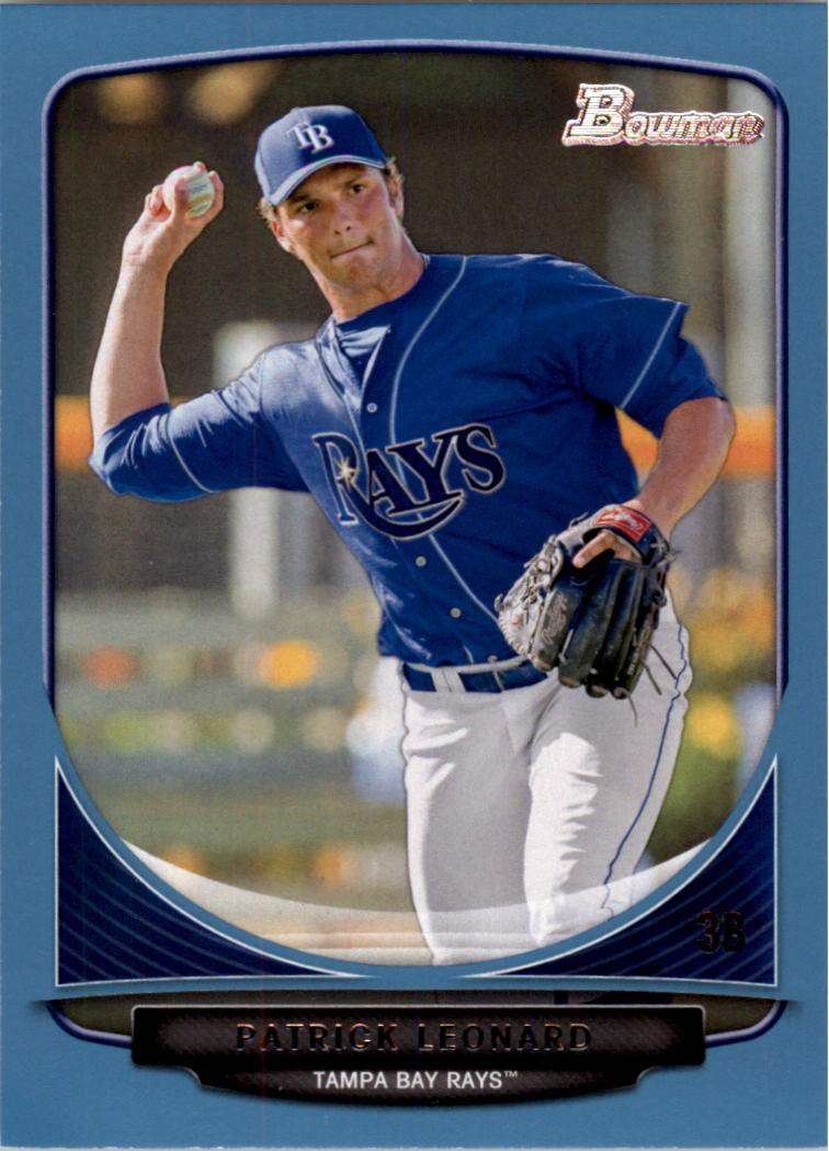 2013 Bowman Prospects Blue #BP49 Patrick Leonard