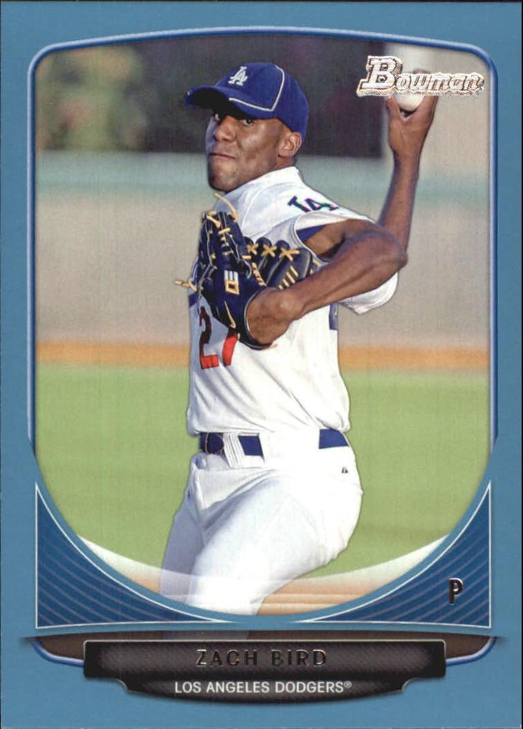 2013 Bowman Prospects Blue #BP61 Zach Bird