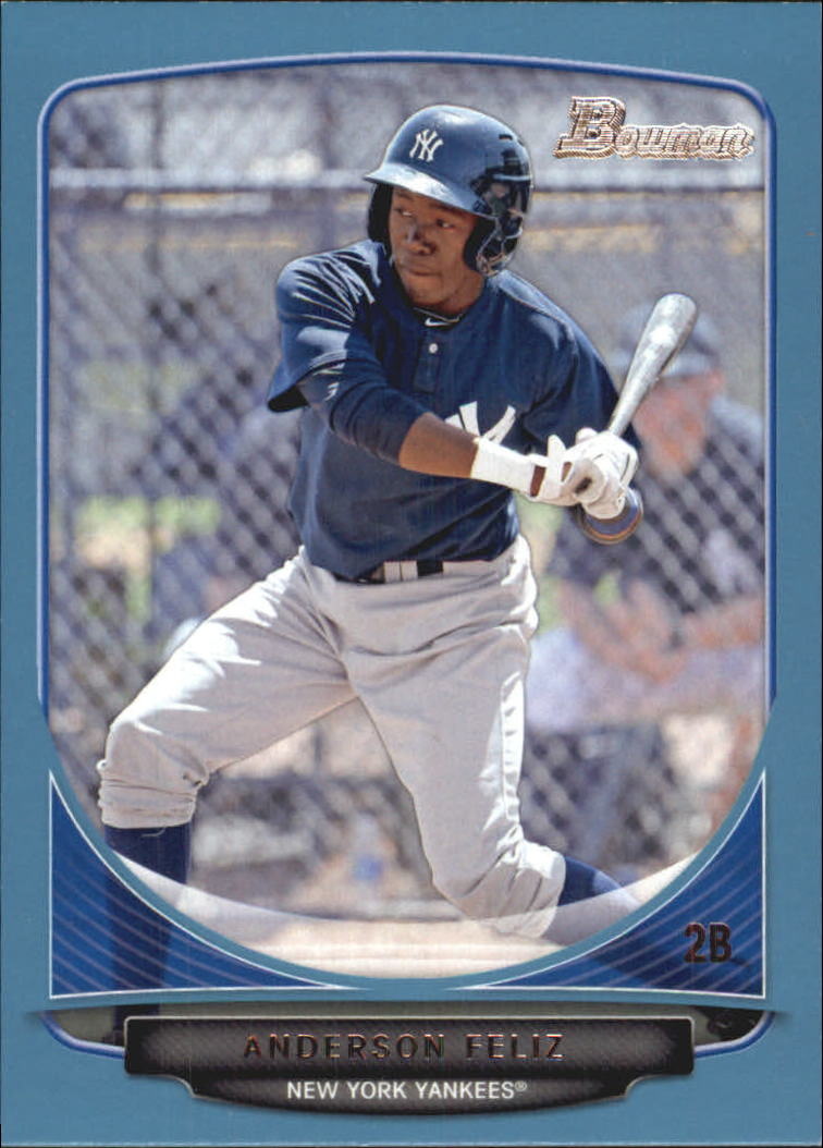 2013 Bowman Prospects Blue #BP69 Anderson Feliz
