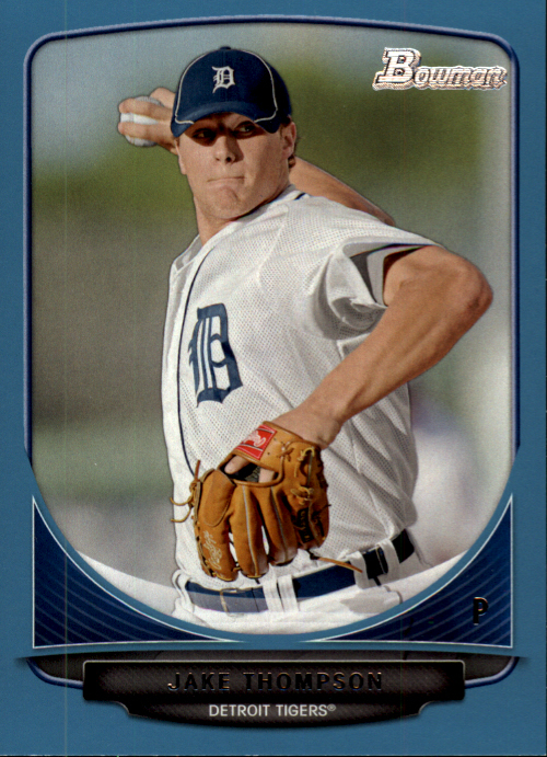 2013 Bowman Prospects Blue #BP75 Jake Thompson