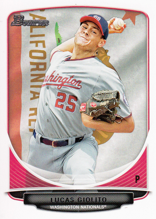 2013 Bowman Prospects Hometown #BP5 Lucas Giolito