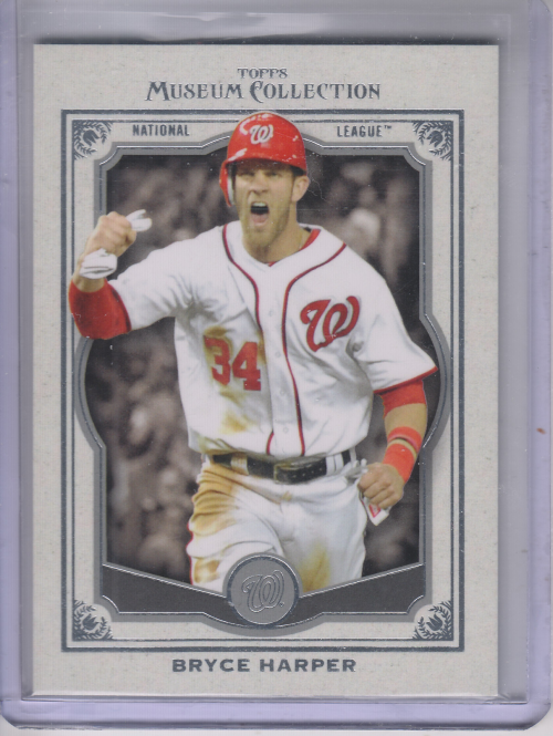 2013 Topps Museum Collection #12 Bryce Harper
