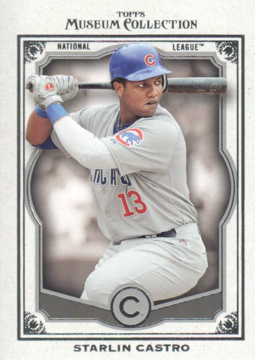 2013 Topps Museum Collection #13 Starlin Castro
