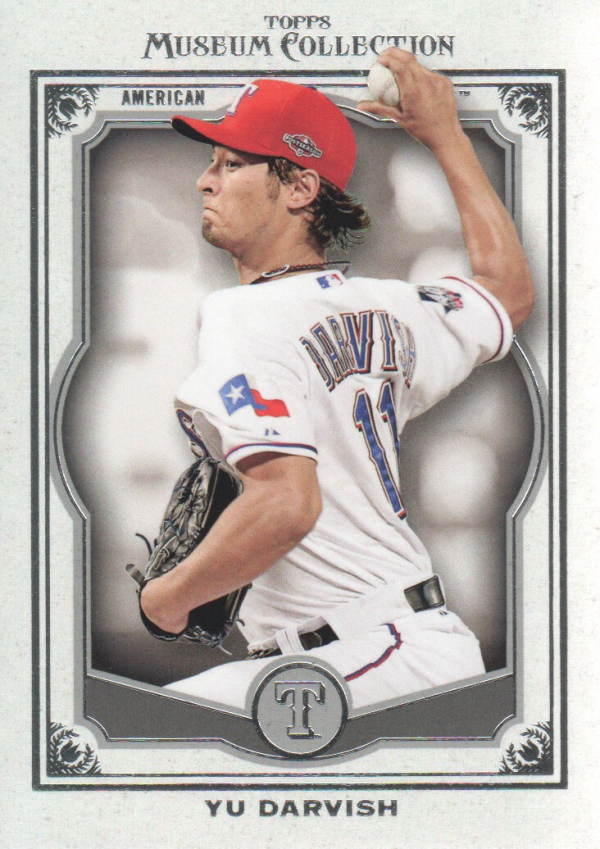 2013 Topps Museum Collection #23 Yu Darvish