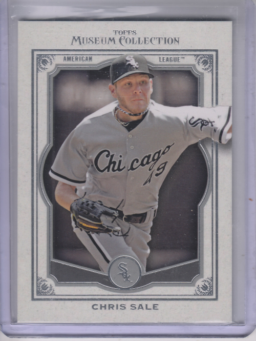 2013 Topps Museum Collection #25 Chris Sale
