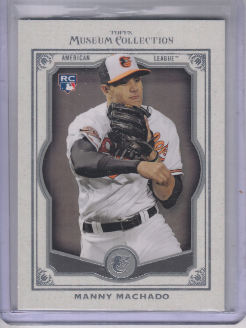 2013 Topps Museum Collection #70 Manny Machado RC