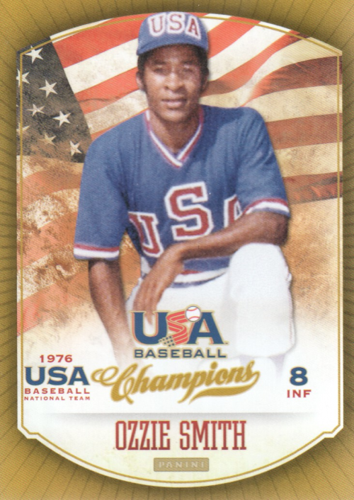 2013 USA Baseball Champions #1 Ozzie Smith
