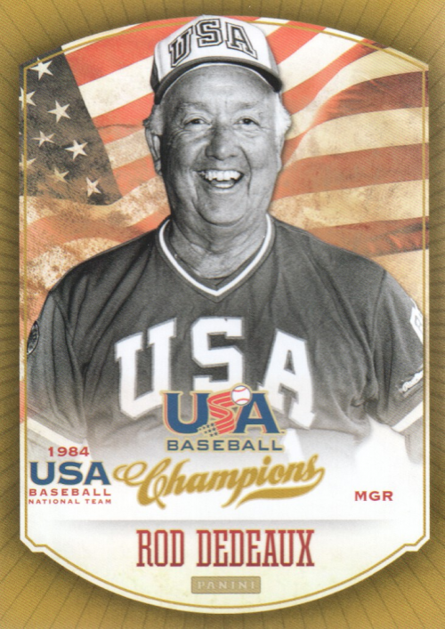 2013 USA Baseball Champions #2 Rod Dedeaux