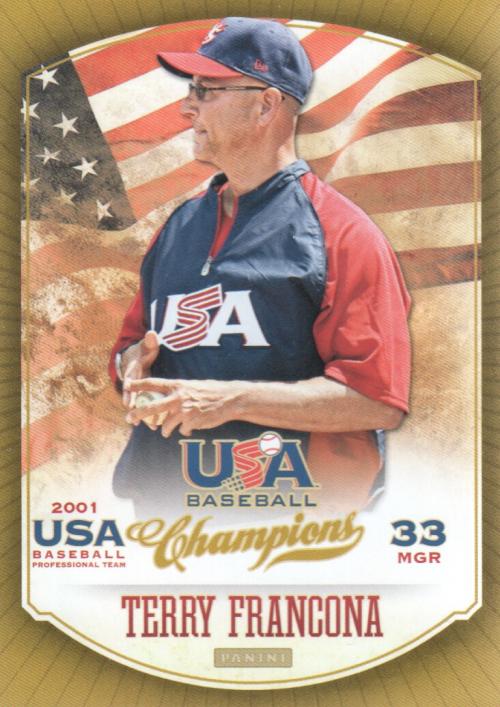 2013 USA Baseball Champions #3 Terry Francona