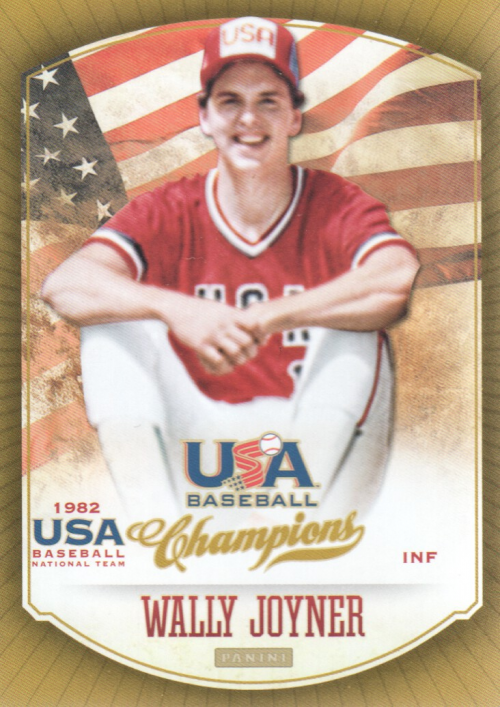 2013 USA Baseball Champions #5 Wally Joyner