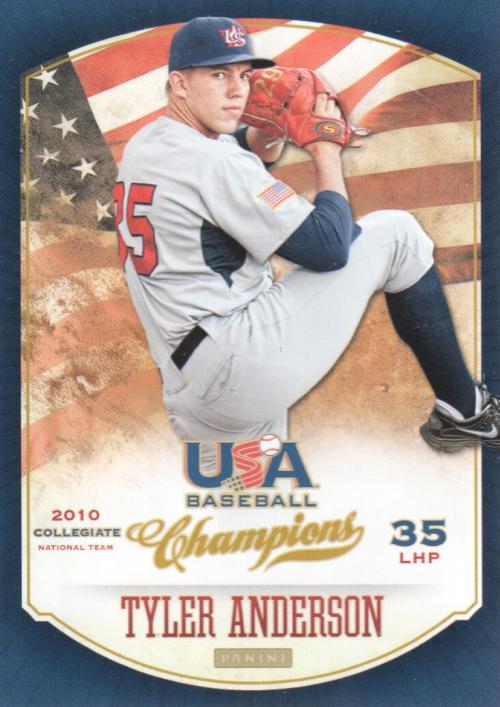 2013 USA Baseball Champions #6 Tyler Anderson