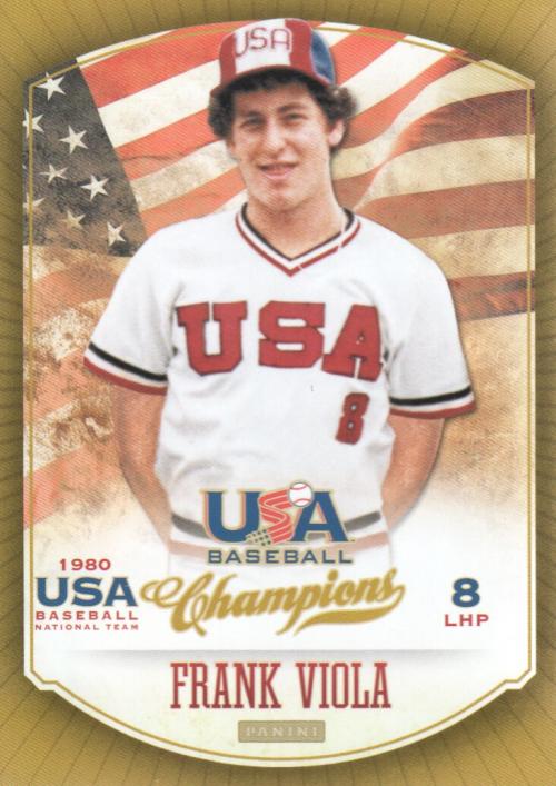 2013 USA Baseball Champions #7 Frank Viola