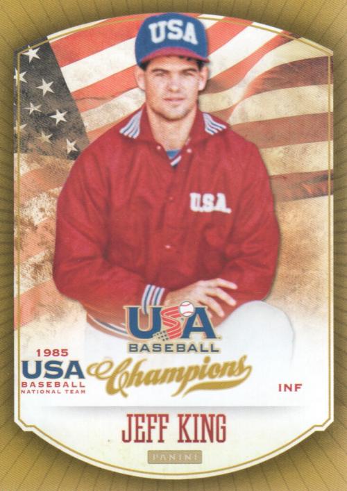 2013 USA Baseball Champions #8 Jeff King
