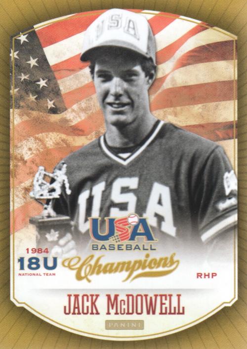 2013 USA Baseball Champions #9 Jack McDowell