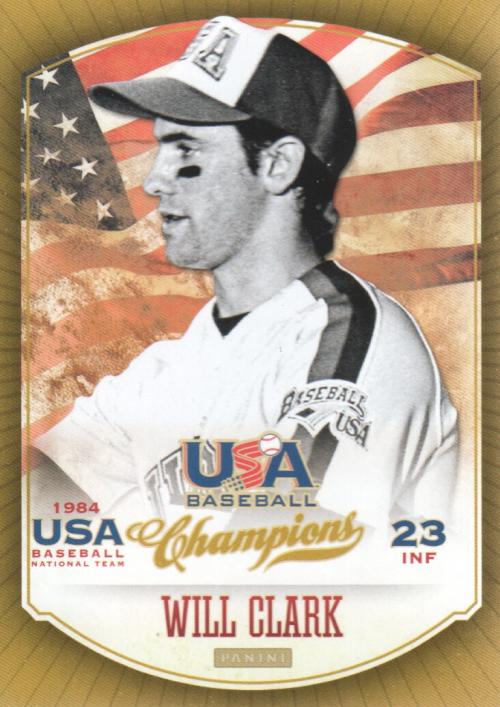 2013 USA Baseball Champions #10 Will Clark