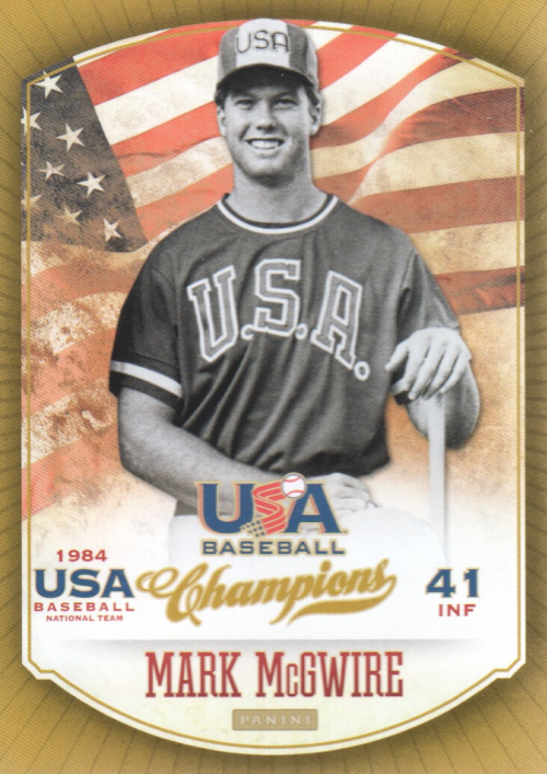 2013 USA Baseball Champions #11 Mark McGwire