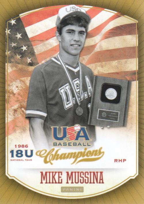 2013 USA Baseball Champions #13 Mike Mussina