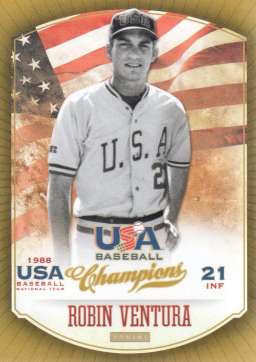 2013 USA Baseball Champions #17 Robin Ventura