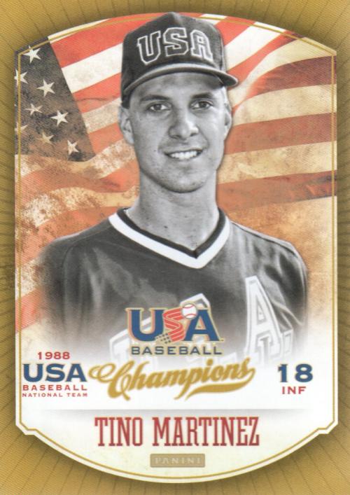 2013 USA Baseball Champions #19 Tino Martinez
