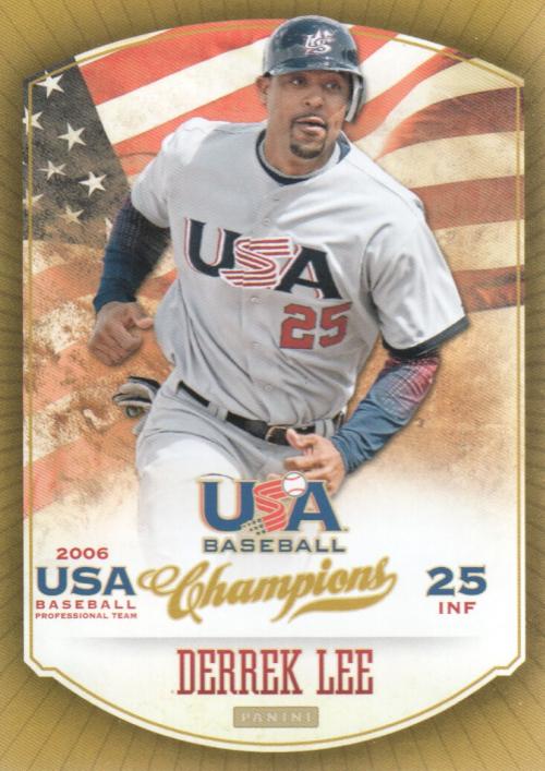 2013 USA Baseball Champions #21 Derrek Lee