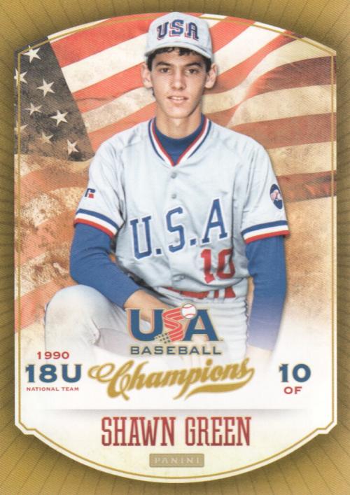 2013 USA Baseball Champions #22 Shawn Green