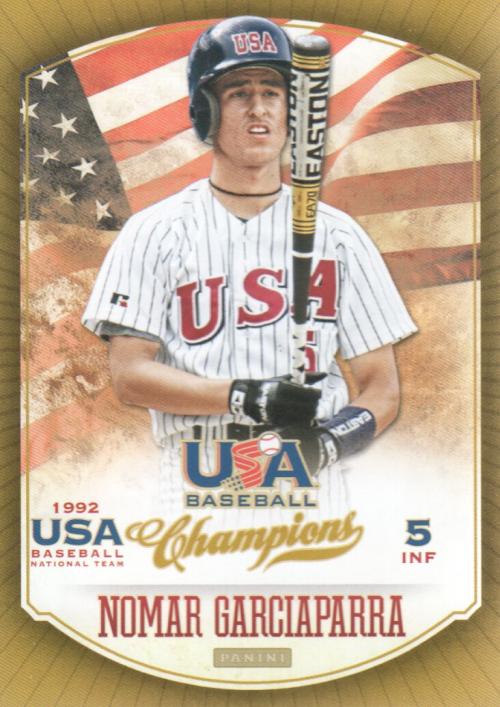 2013 USA Baseball Champions #23 Nomar Garciaparra