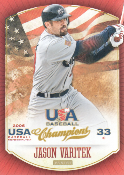 2013 USA Baseball Champions #24 Jason Varitek