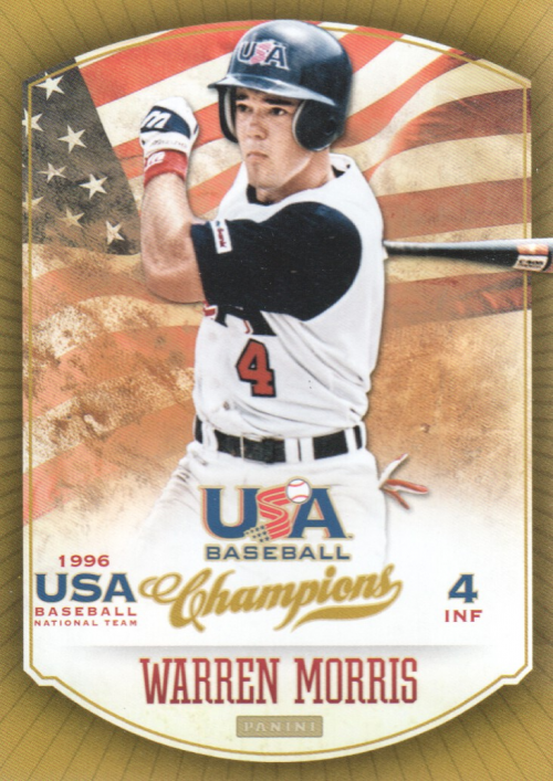 2013 USA Baseball Champions #25 Warren Morris