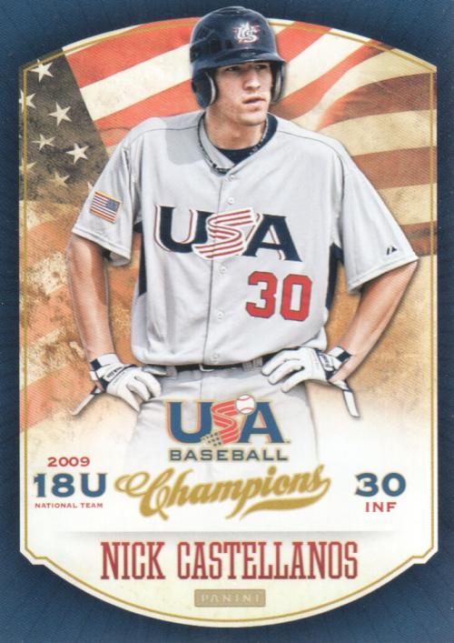 2013 USA Baseball Champions #63 Nick Castellanos