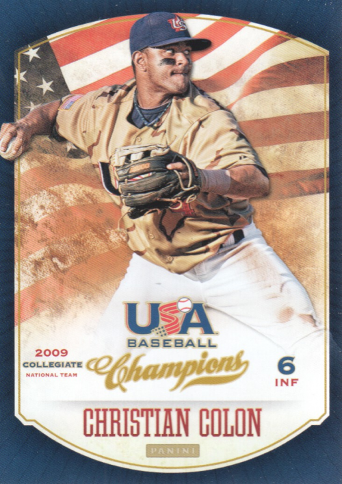 2013 USA Baseball Champions #75 Christian Colon