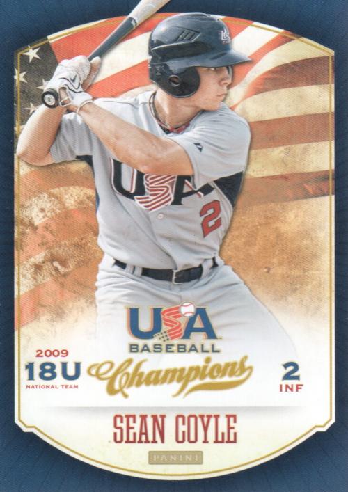 2013 USA Baseball Champions #80 Sean Coyle