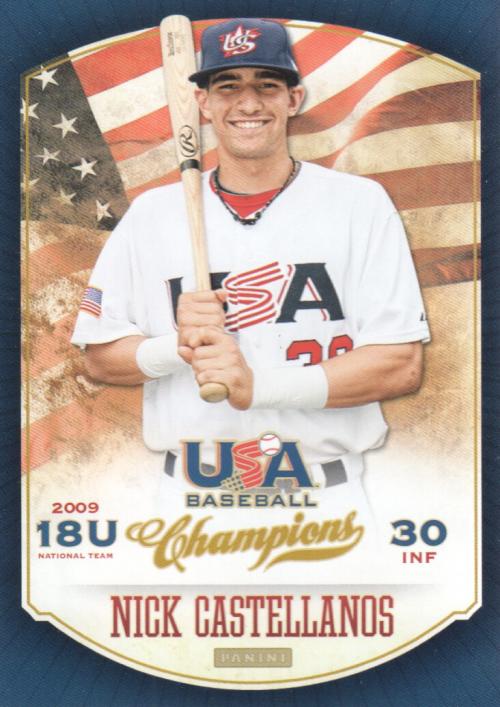 2013 USA Baseball Champions #82 Nick Castellanos