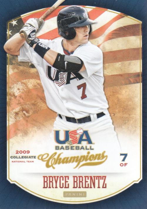 2013 USA Baseball Champions #86 Bryce Brentz