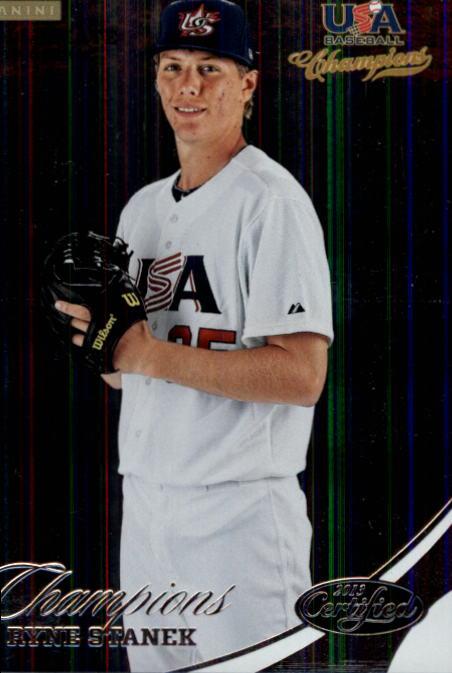 2013 USA Baseball Champions #144 Ryne Stanek