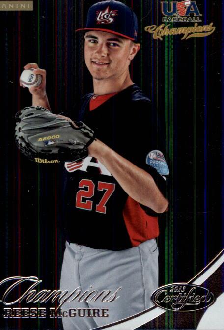 2013 USA Baseball Champions #160 Reese McGuire