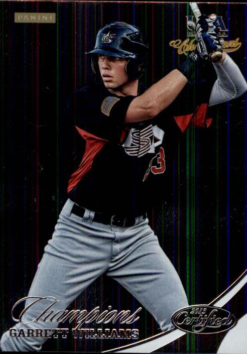 2013 USA Baseball Champions #167 Garrett Williams