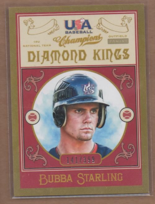 2013 USA Baseball Champions Diamond Kings #7 Bubba Starling