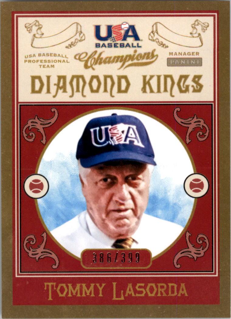 2013 USA Baseball Champions Diamond Kings #11 Tommy Lasorda