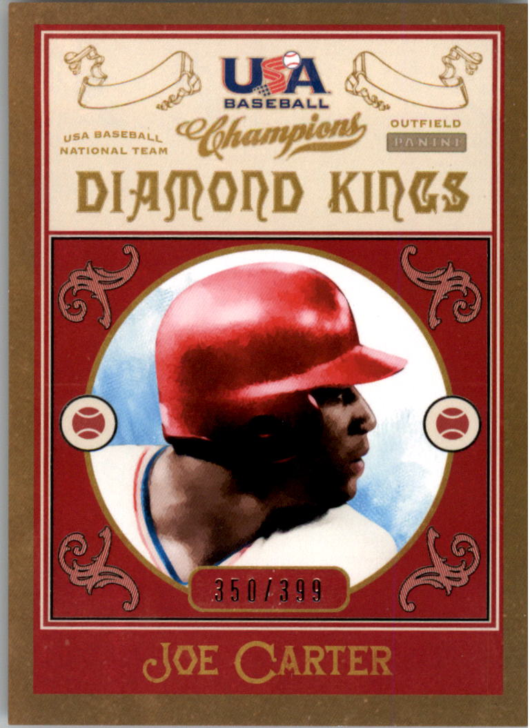 2013 USA Baseball Champions Diamond Kings #15 Joe Carter