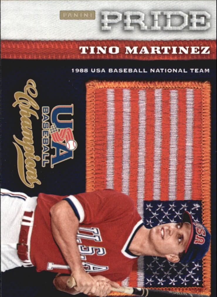 2013 USA Baseball Champions Pride #2 Tino Martinez