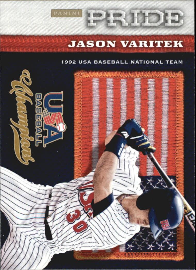 2013 USA Baseball Champions Pride #3 Jason Varitek
