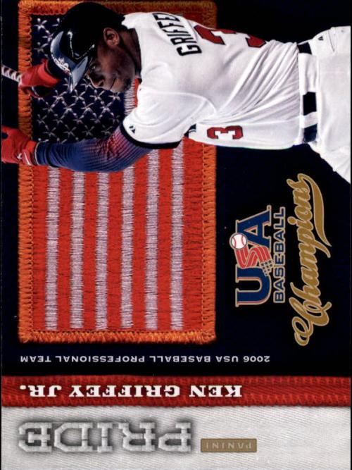 2013 USA Baseball Champions Pride #4 Ken Griffey Jr.