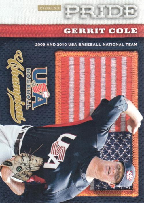 2013 USA Baseball Champions Pride #5 Gerrit Cole
