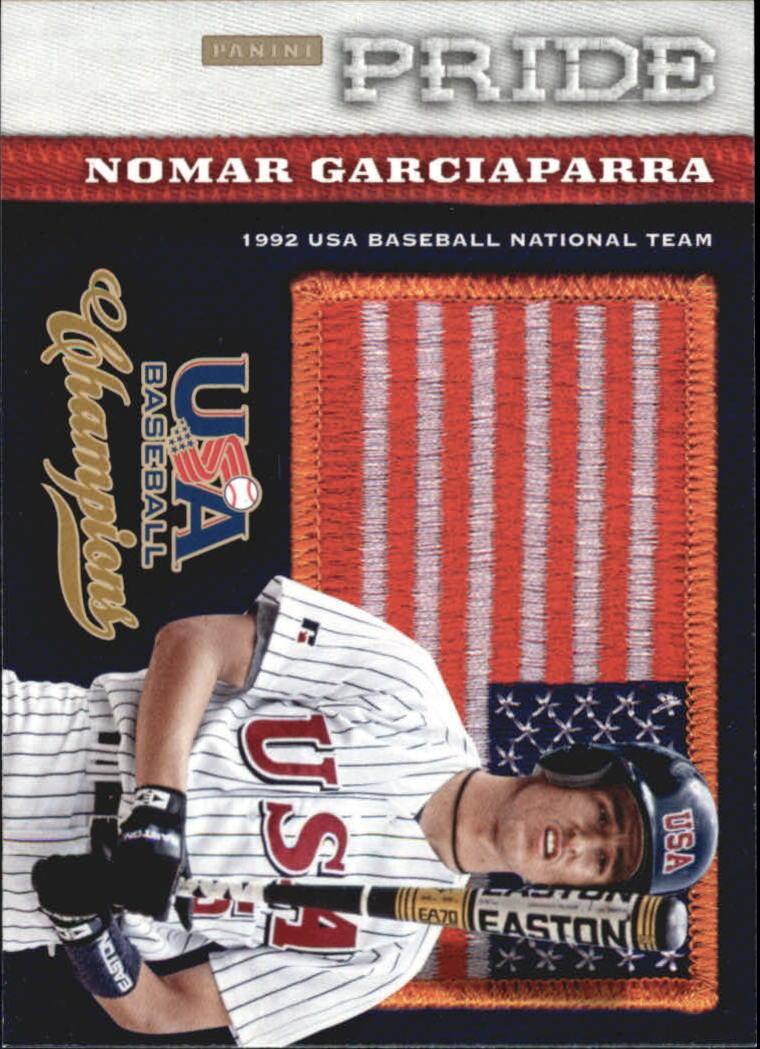 2013 USA Baseball Champions Pride #7 Nomar Garciaparra