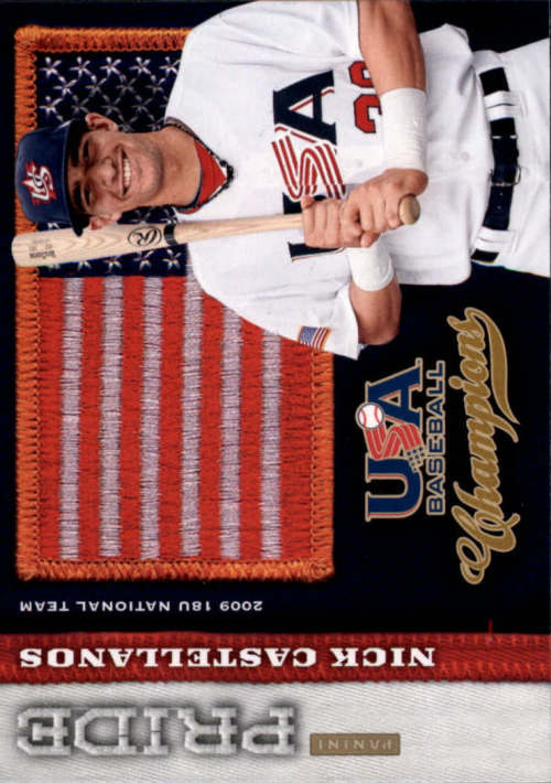 2013 USA Baseball Champions Pride #8 Nick Castellanos