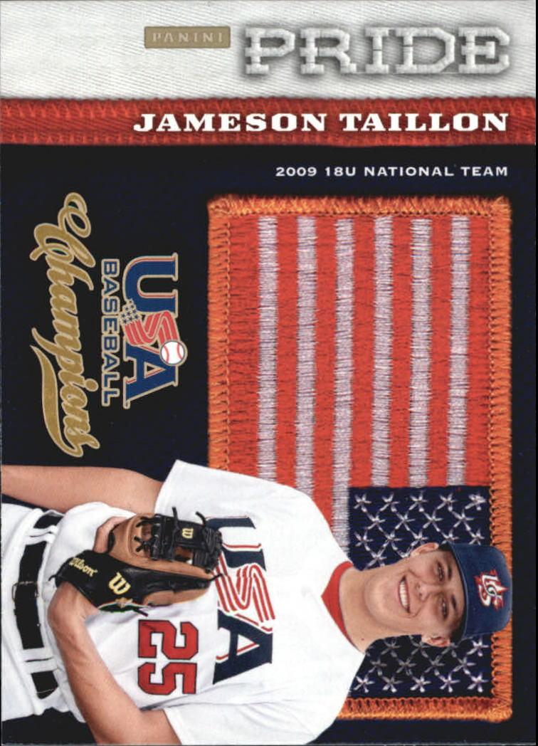 2013 USA Baseball Champions Pride #9 Jameson Taillon