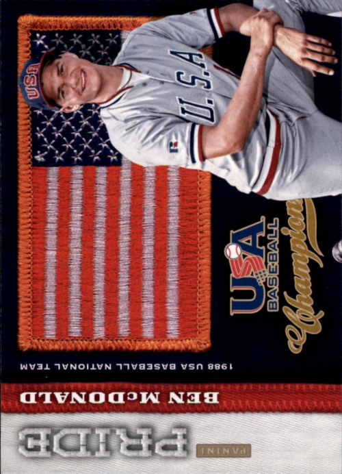 2013 USA Baseball Champions Pride #11 Ben McDonald