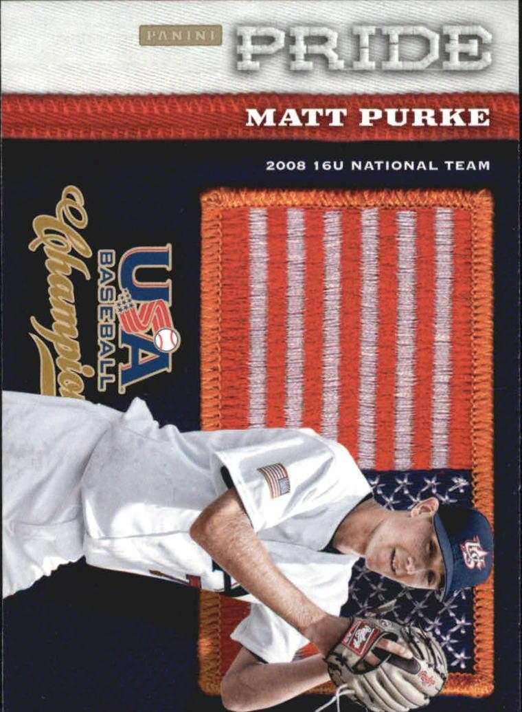 2013 USA Baseball Champions Pride #13 Matt Purke