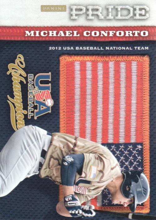 2013 USA Baseball Champions Pride #15 Michael Conforto