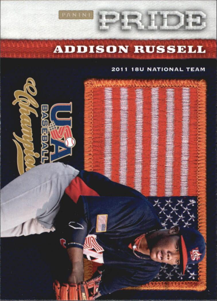 2013 USA Baseball Champions Pride #17 Addison Russell